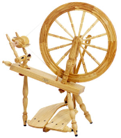 "Schacht-Reeves Saxony Ash 30"" Spinning Wheel"
