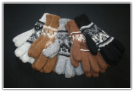 Alpaca Reversable Gloves