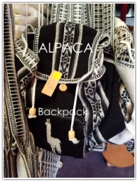 Alpaca Backpacks