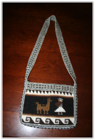 Purse- Alpaca Rectugular Crochet Design