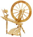 "Schacht-Reeves Saxony Ash 24"" Spinning Wheel"