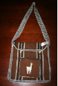 Alpaca Square Design Purse